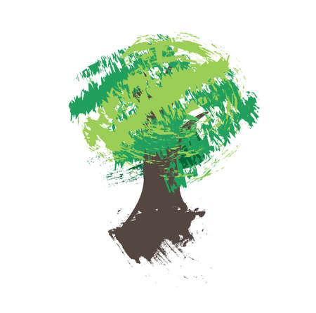 Grungy tree sketch Stock Vector - 15743703