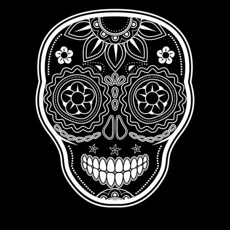 Day of the dead sugar skull Stock Vector - 15790369