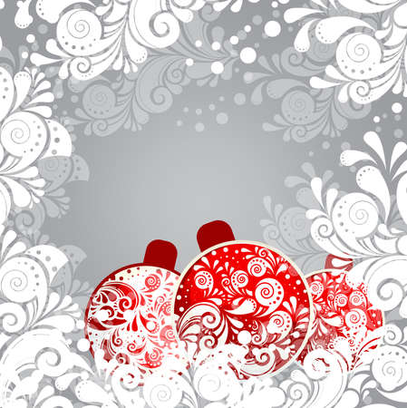 New year greeting card Stock Vector - 15970803