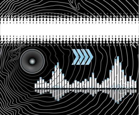 Music design template Vector