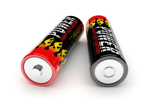 Two batteries Stock Photo - 16055553