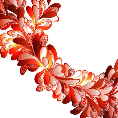 Floral fractal  ornament Stock Vector - 16138962