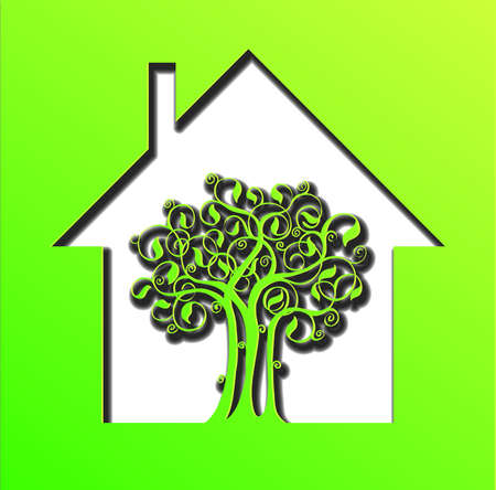 house energy: Green house