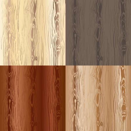 Wooden texture set Stock Vector - 17562243