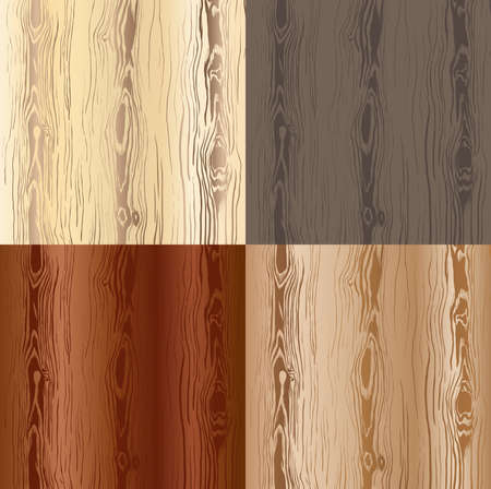 Wooden texture set Stock Vector - 17562243
