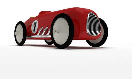 Toy retro race car Stock Photo - 17562252