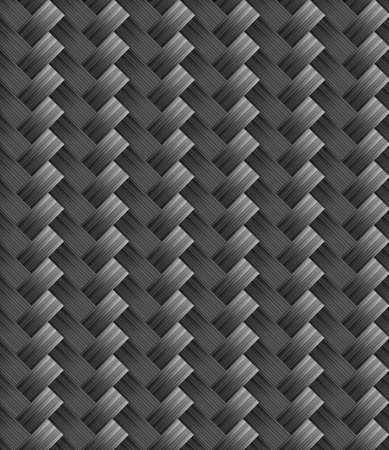 3d carbon: Diagonal grey carbon fabric texture