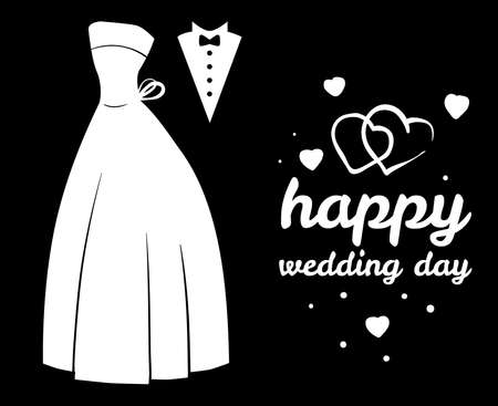 Wedding concept Vector