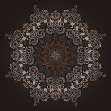 in hinduism: Radial geometric pattern