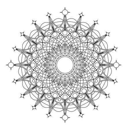 radial: Radial geometric pattern