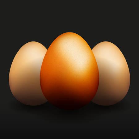 priceless: Three golden eggs