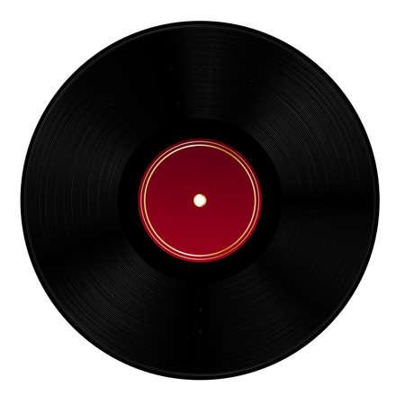 record player: Vinyl disc