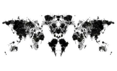 inkblot: Rorschach test
