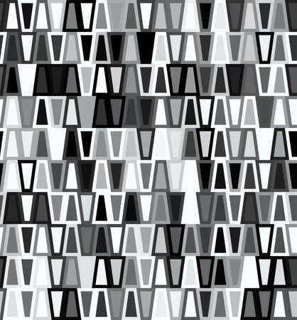 motif geometriques: Trap�ze motif g�om�trique transparente