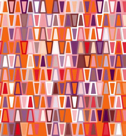 trapezoid: Trapezoid seamless geometric pattern Illustration