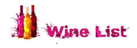botle: Grunge wine list template