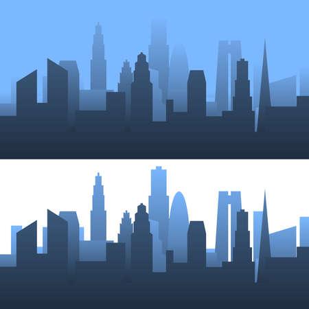 Generic cityscape Illustration