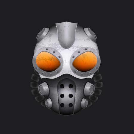 gasmask: Steampunk gas mask