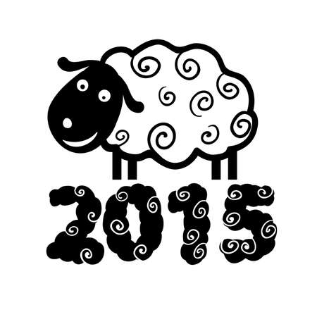 Sheep 2015 Vector