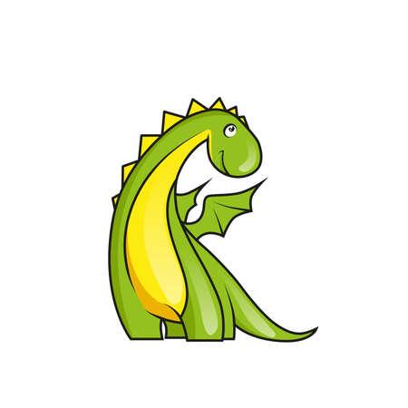 Cute little dragon Zdjęcie Seryjne - 31637618