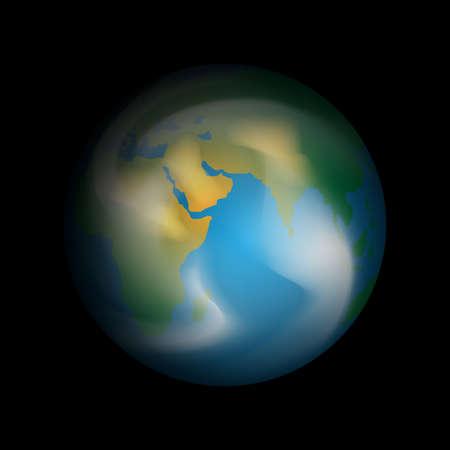terra: Planet Earth Illustration