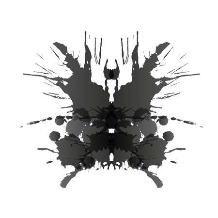 Rorschach test card