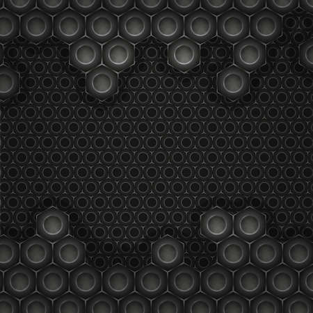 industrial hole: High-tech style background