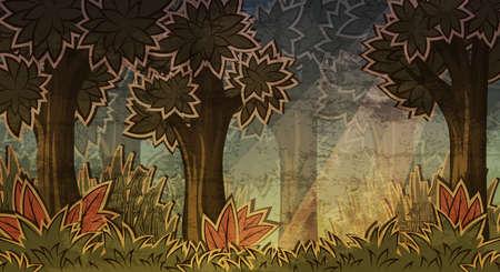 surrealistic: Magic forest