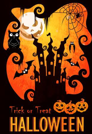 halloween poster: Halloween poster template