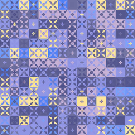 seamless background: Abstract geometric pattern Illustration