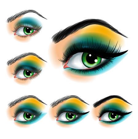 eye makeup: sombra de ojos maquillaje paso a paso