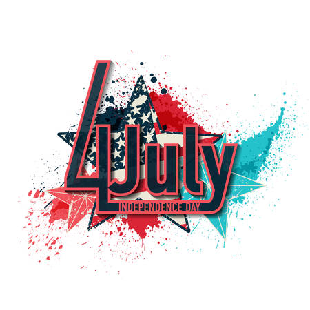 independance: 4th July Independance Day background Illustration