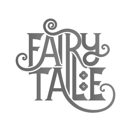 once person: Fairy Tale lettering