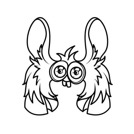 Monster Páginas Para Colorear Alfabeto: Letra X Ilustraciones ...