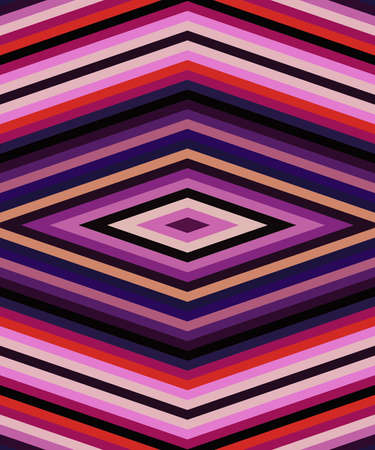 Abstract seamless pink lines pattern