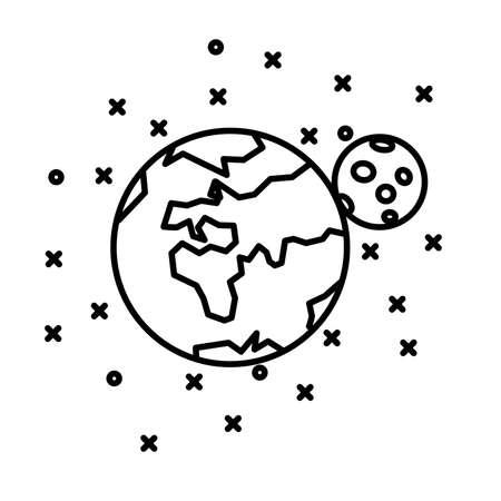 flat earth: Flat Earth, Moon and stars