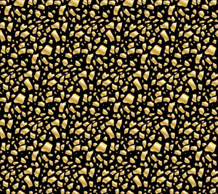 pied: Golden egg shards seamless pattern Illustration