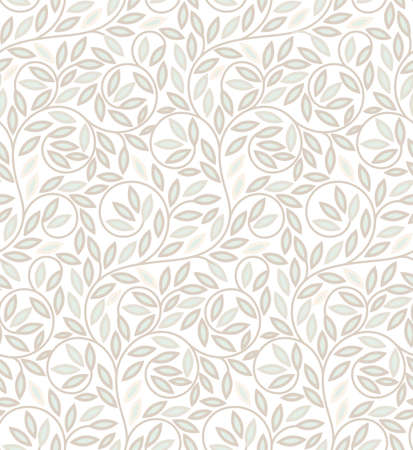 Seamless climber plant pattern. Suitable for wallpaper, wrapping, textile printing and backgrounds
