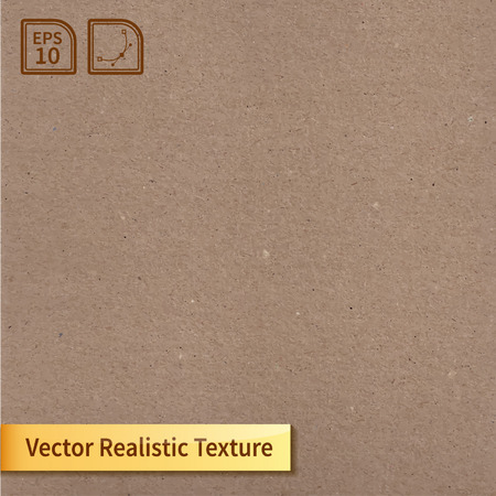 Vector cardboard texture  Phototexture for your design