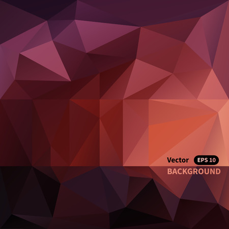 harsh: Abstract triangle mosaic vector background Illustration