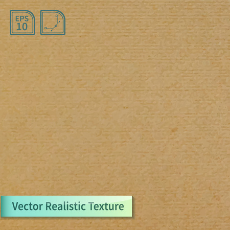 paperboard packaging: Vector soft clean cardboard texture. Photo texture for your design Illustration