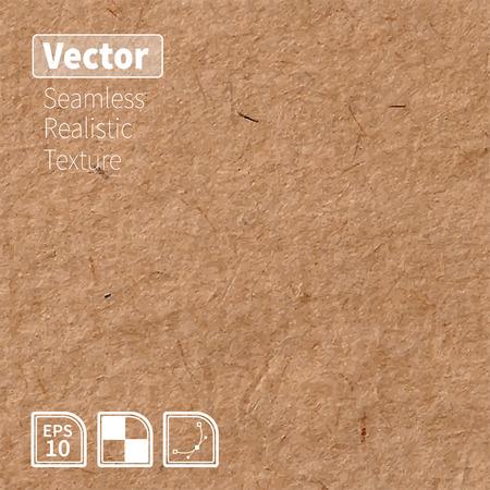 ベクトル シームレスな玄米紙写真テクスチャ。あなたのデザインの背景。