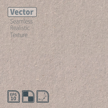 sheet of paper: seamless cardboard texture.  Illustration