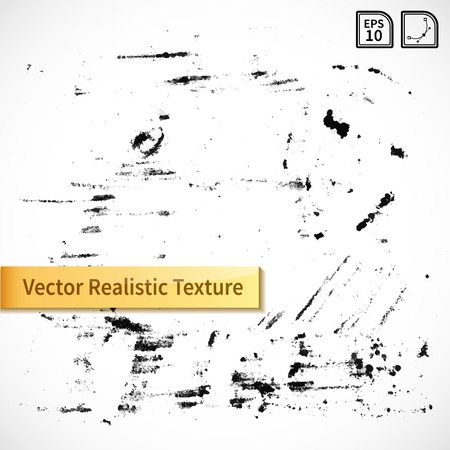 dirt texture: Vector ink spots and stains. Grayscale grunge background for your design.