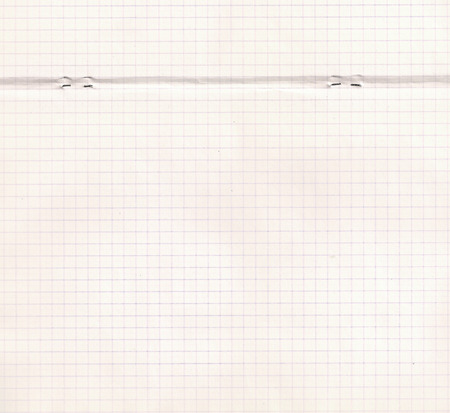 Old paper double-page spread of school exercise book. Vintage background for your design