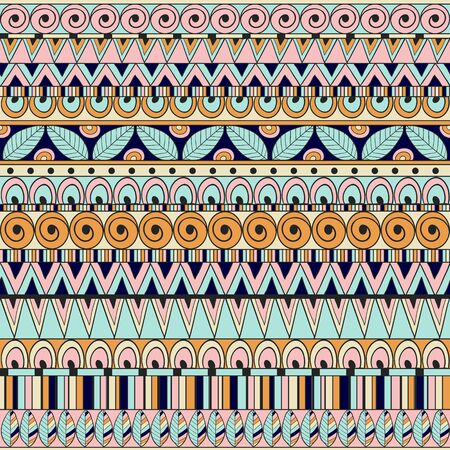fabric textures: Seamless abstract ethnic pattern. Seamless pattern can be used for wallpaper, pattern fills, web page background,surface and fabric textures.