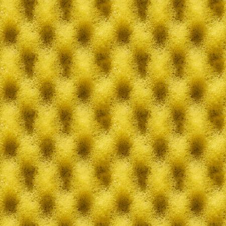 シームレスな黄色いスポンジのテクスチャです。あなたの設計のための現実的な背景