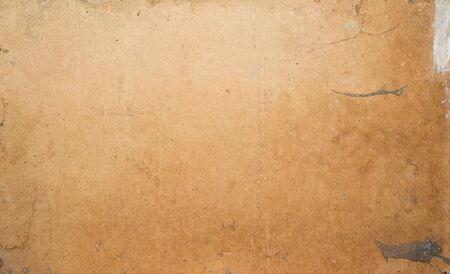 Dirty cardboard photo texture. Grunge background for your design in loft style. 스톡 콘텐츠