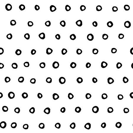 シームレスなミニマルなインク リング パターンを抽象化します。