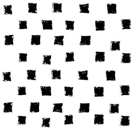 シームレスなミニマルなチェス正方形パターンを抽象化します。